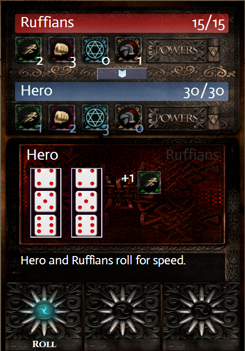 Combat Speed Roll