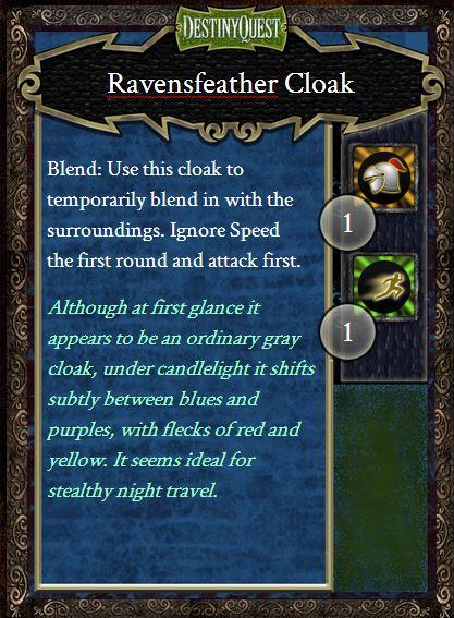 Ravensfeather Cloak