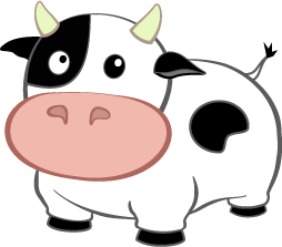 Adventure Cow Logo