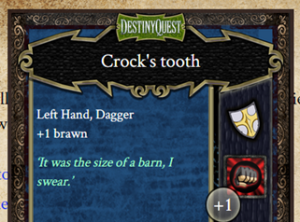 DQI Weapon - Crock's tooth